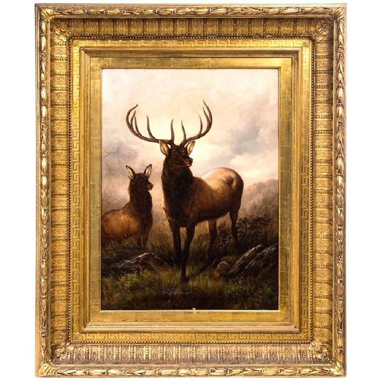 """""""Monarch of the Glen"""" by Henry Collins Bispham For Sale"""
