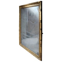 Stunning Large 19th Century French Giltwood and Gesso Wall Mirror, circa 1880
