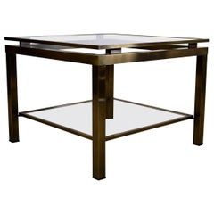 Maison Jansen Brass Side Table