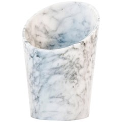 White Marble Glacette