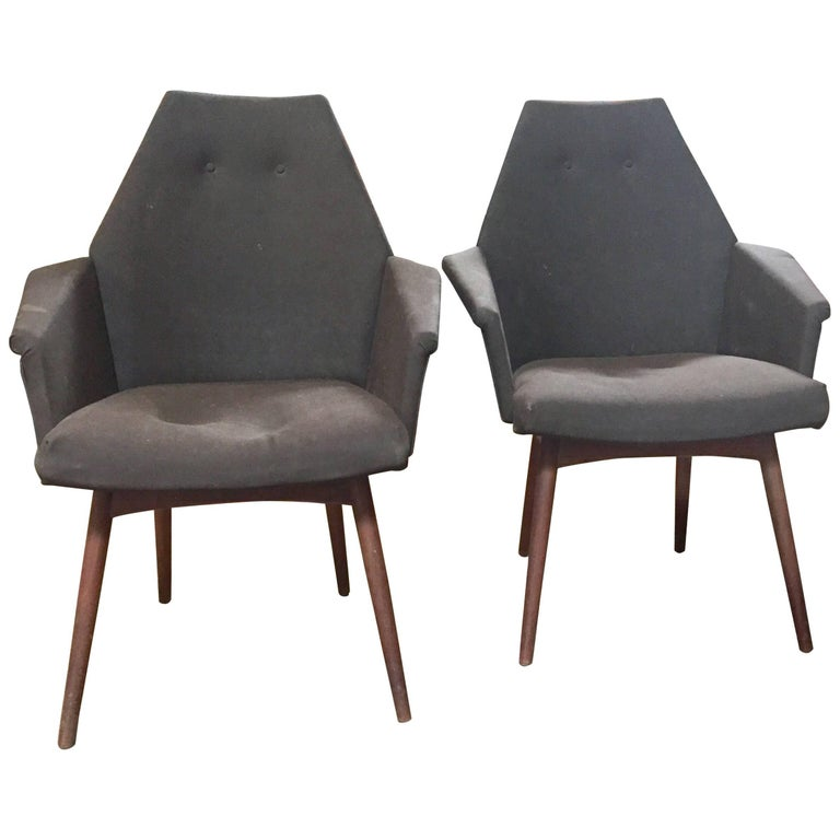 Adrian Pearsall Pair of Chairs