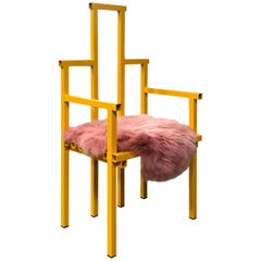 Peach Melba Chair by Fredrik Paulsen