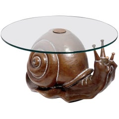 Classic Federico Armijo Snail Table