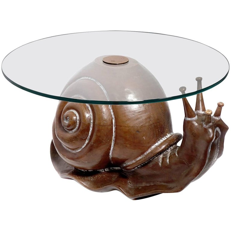 Classic Federico Armijo Snail Table For Sale