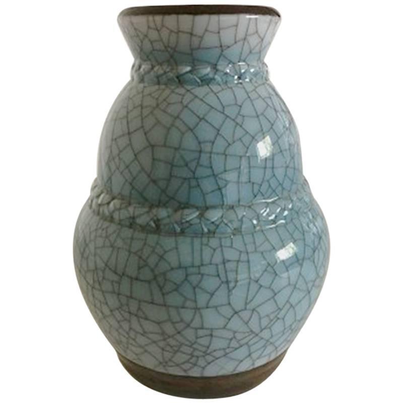 Bing & Grøndahl Art Nouveau Unique Vase by Effie Hegermann-Lindencrone from 1927