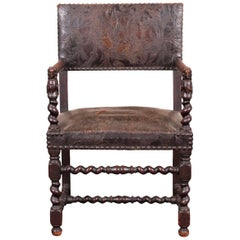 Renaissance Revival Hall Chair