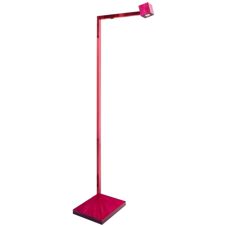 Marienbad bedside cube sconce in blue for sale at 1stdibs marienbad floor lamp in hot pink aloadofball Images