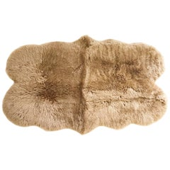 Forsyth Sheepskin Rug, Tan