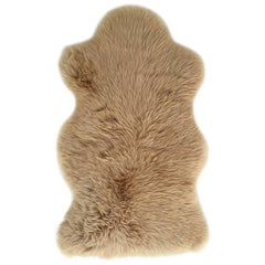 Forsyth New Zealand Sheepskin Throw Tan