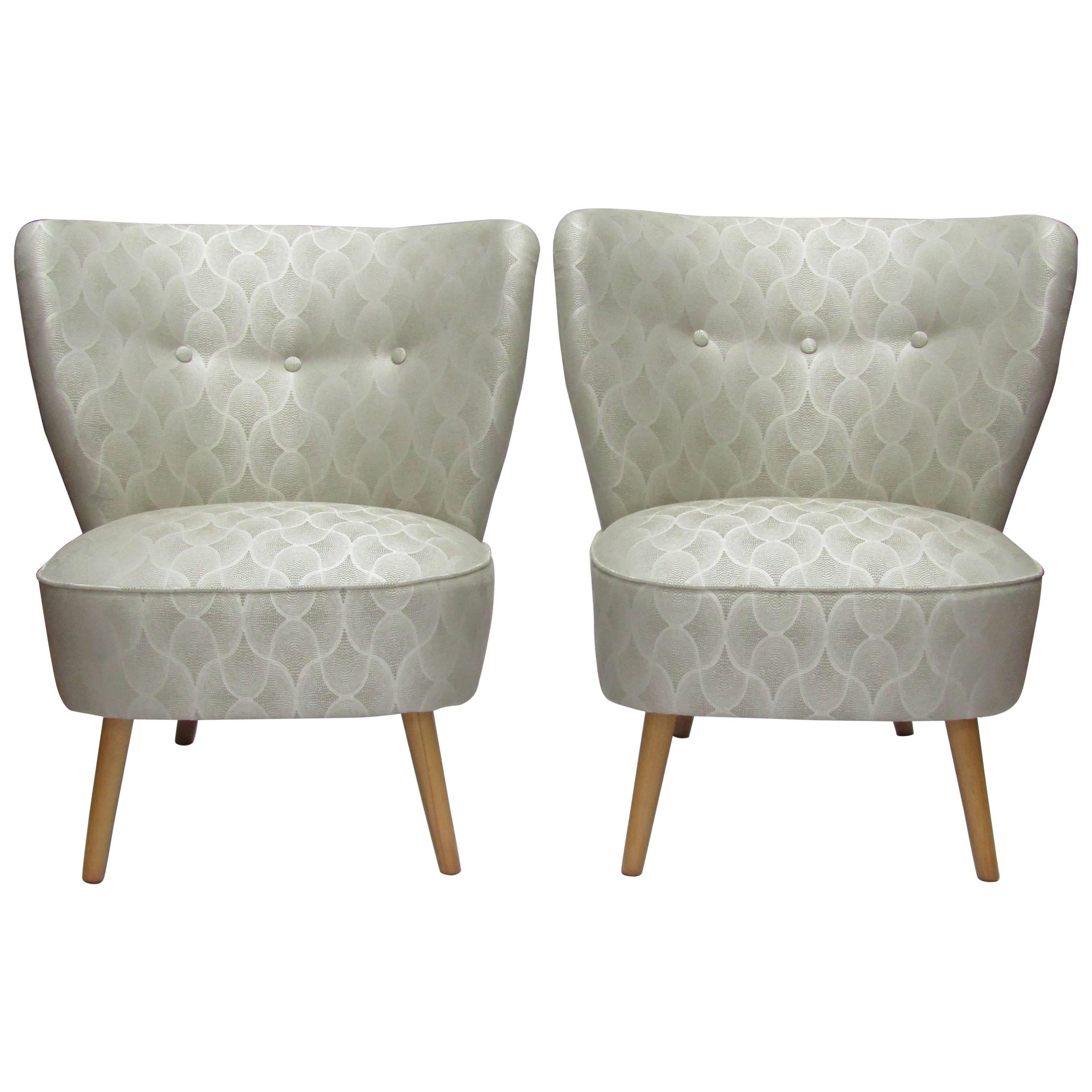 Pair Of 1950s Cocktail Chairs