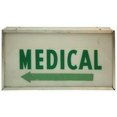 Vintage 32-Sided Medical Light
