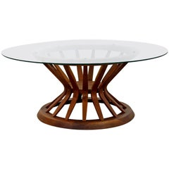 Mid-Century Modern Edward Wormley for Dunbar Wheat Sheaf Coffee Table, 1950s
