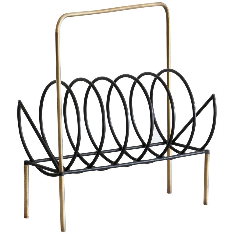 Italian Magazine Rack For Sale