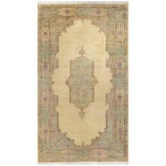 Oversize Persian Kirman Circa 1940 Rug Carpet