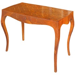 Louis XV Style Italian Marquetry Desk