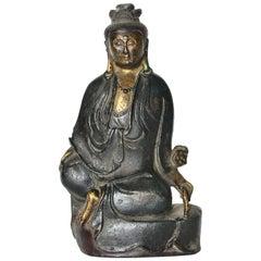 Antique Bronze Kwan Yin