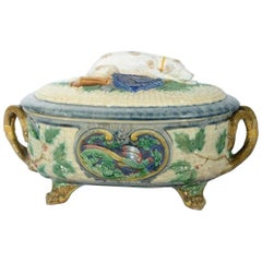 Antique Minton Covered Soup Tureen, circa 1875