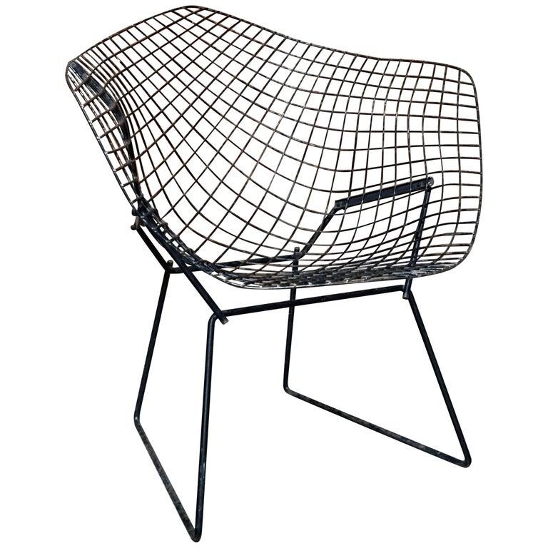 harry bertoia diamond chair for sale at 1stdibs. Black Bedroom Furniture Sets. Home Design Ideas