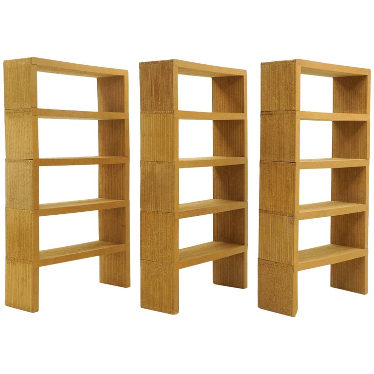 Frank Gehry Easy Edges Bookshelves/Bookcases 15 Pieces Not a Reissue