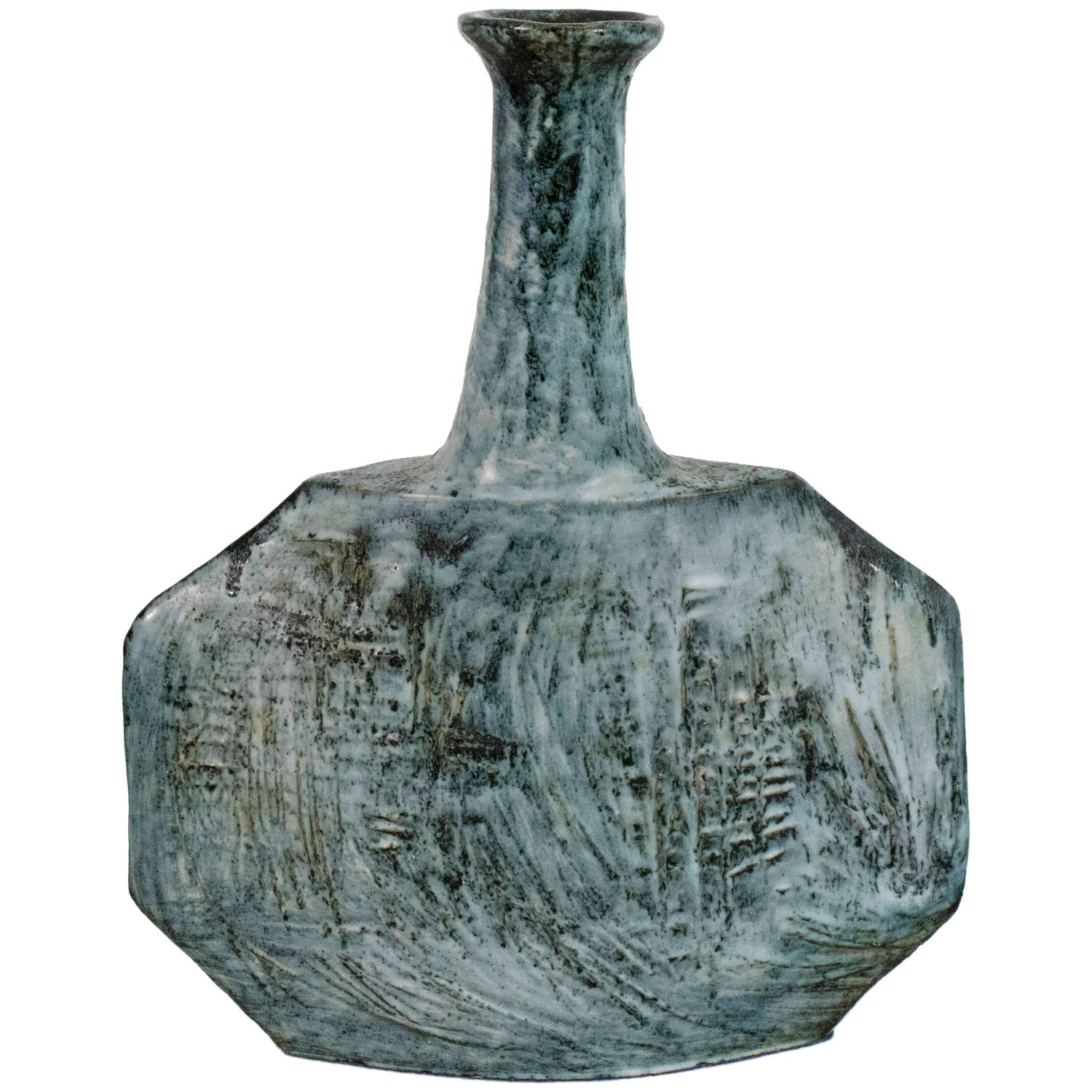 Antique vases and vessels for sale in spain 1stdibs ceramic vase by giuseppe rossicone circa 1960 italy reviewsmspy