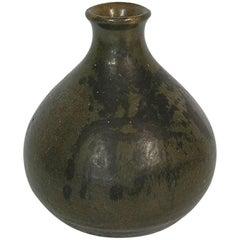 1960s Danish Mid-Century Modern Pottery Vase