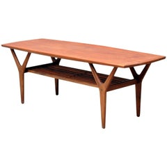 1960s Henning Kjaernulf Coffee Table in Teak