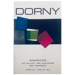 """Dorny"" Aqua Tint Etching by Bertrand Dorny"