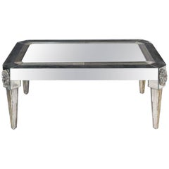 Richard Himmel, Usa, 1970s a Custom Mirrored Low Table