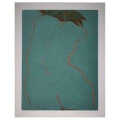 """Navrat"" 2006 Lithograph by Tomas Hrivnach"