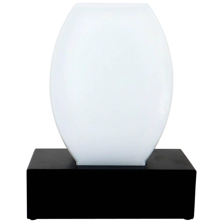 Murano Glass Table Lamp Dorane by Ettore Sottsass for Stilnovo