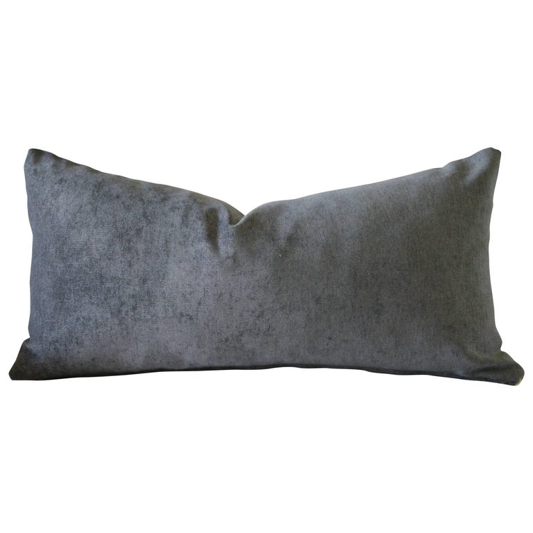 Velvet and Linen Accent Pillows