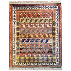Extraordinary Early 20th Century Kuba Rug