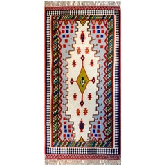 Beautiful Early 20th Century Shiraz Kilim Rug
