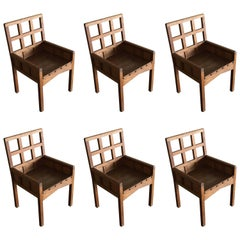Set of Chairs by Francis Jourdain