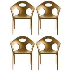 Set of Four Moroso Supernatural Armchairs in Various Color