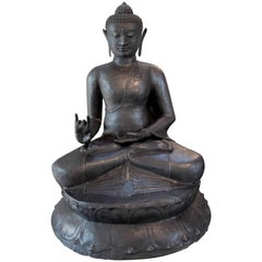 Buddha Patina Copper Indonesia Java