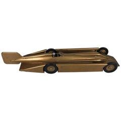 1934 Kingsbury Golden Arrow Art Deco Futurist Steel Race Car