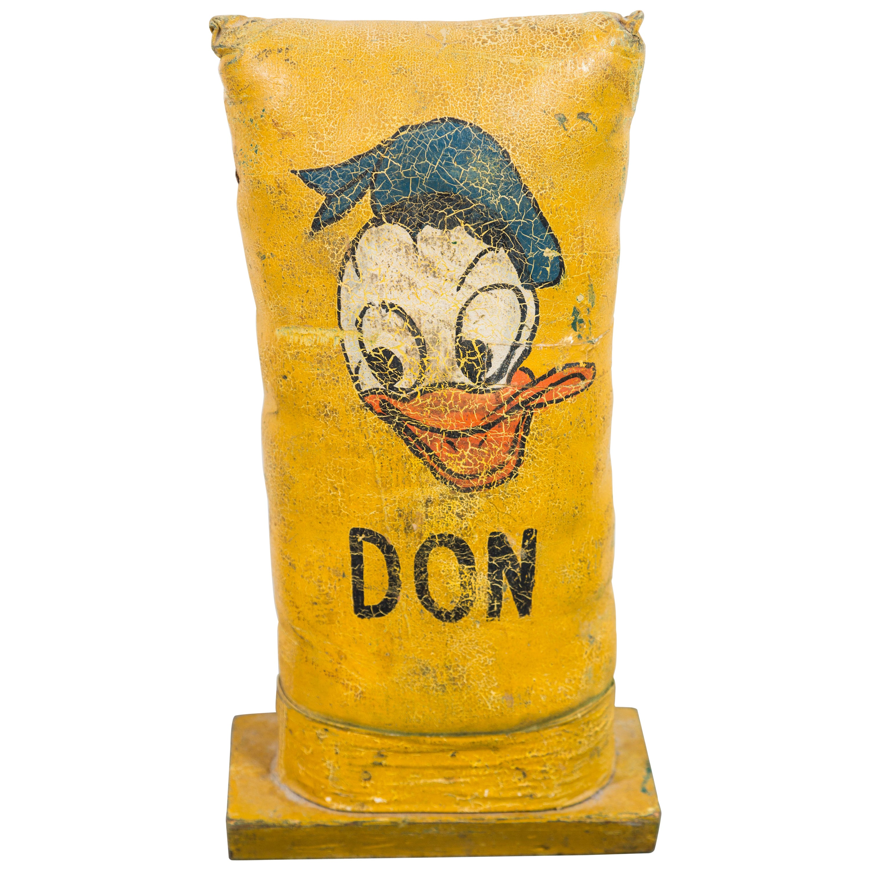 Vintage Don Duck Carnival Midway Knockdown Punk
