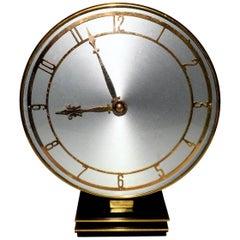 English Modernist Wind Up Clock