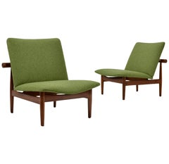 Finn Juhl Pair of Japan Chairs by France & Søn