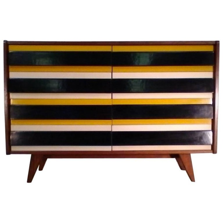 Retro Drawer Chest, 1960s, Jiří Jiroutka