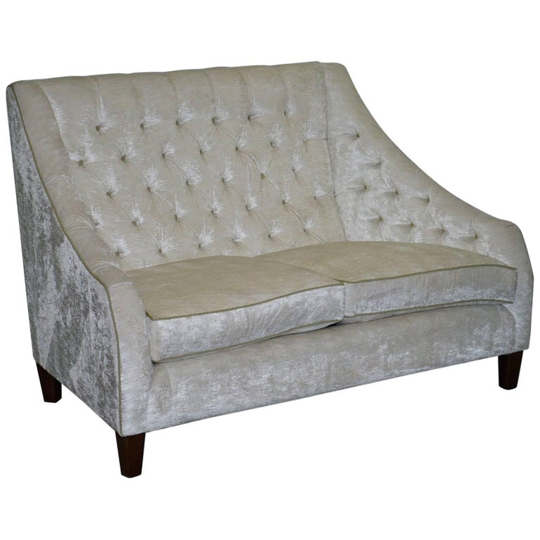Exdisplay Charlotte James Sofa Made in Edinburgh Chesterfield Buttoned
