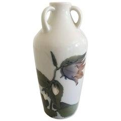 Bing & Grondahl Art Nouveau Vase with Three Handles #116/21