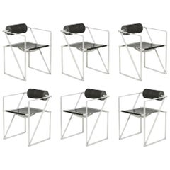 "Six Mario Botta ""Seconda"" Chairs for Alias, circa 1988"