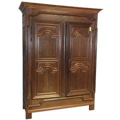 18th Century Oak Armoire