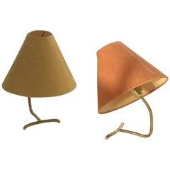 Pair of Table Lamps Rebhuhn by J.T. Kalmar