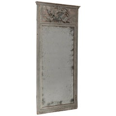 Gustavian Style Wood Framed Mirror