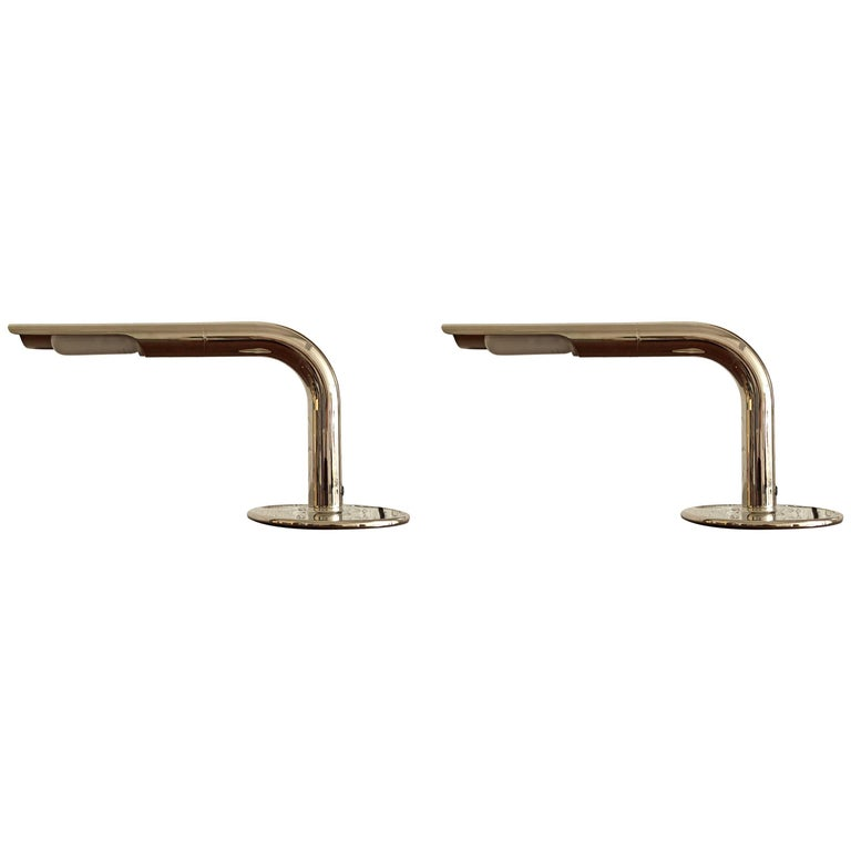 Pair of Table Lamps by Ingo Maurer for Design M For Sale