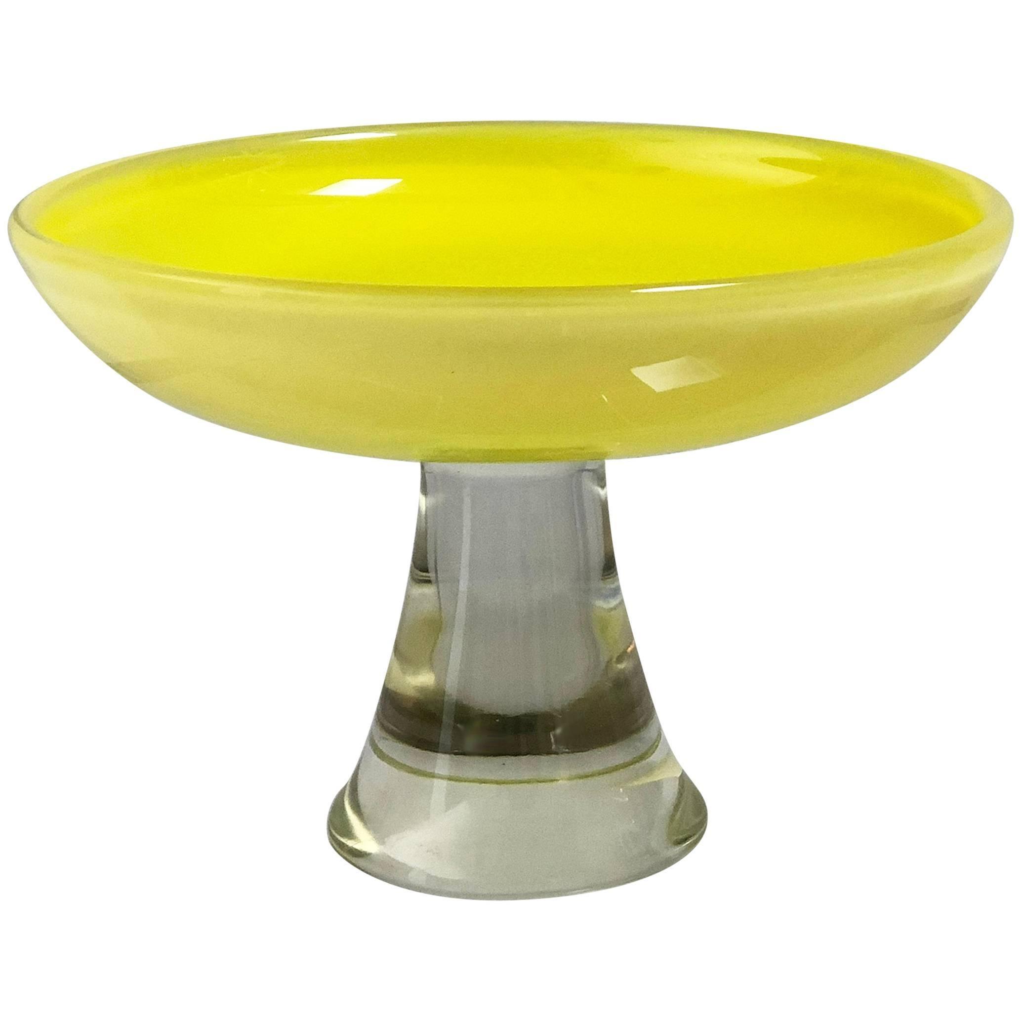Murano Glass Decorative Serving Dish