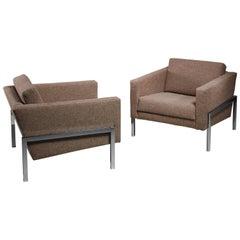 Kurt Thut Pair of Lounge Chairs, Switzerland, 1960s